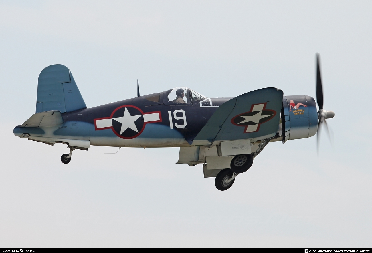 Goodyear FG-1D Corsair - N773RD operated by Private operator #corsair #goodyear