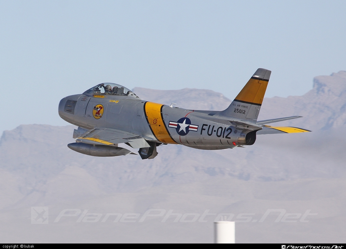 North American F-86F Sabre - N186AM operated by Private operator #northamerican