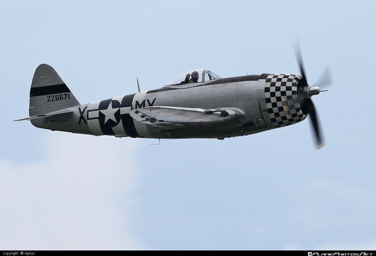Republic P-47D Thunderbolt - N147PF operated by Private operator #republic