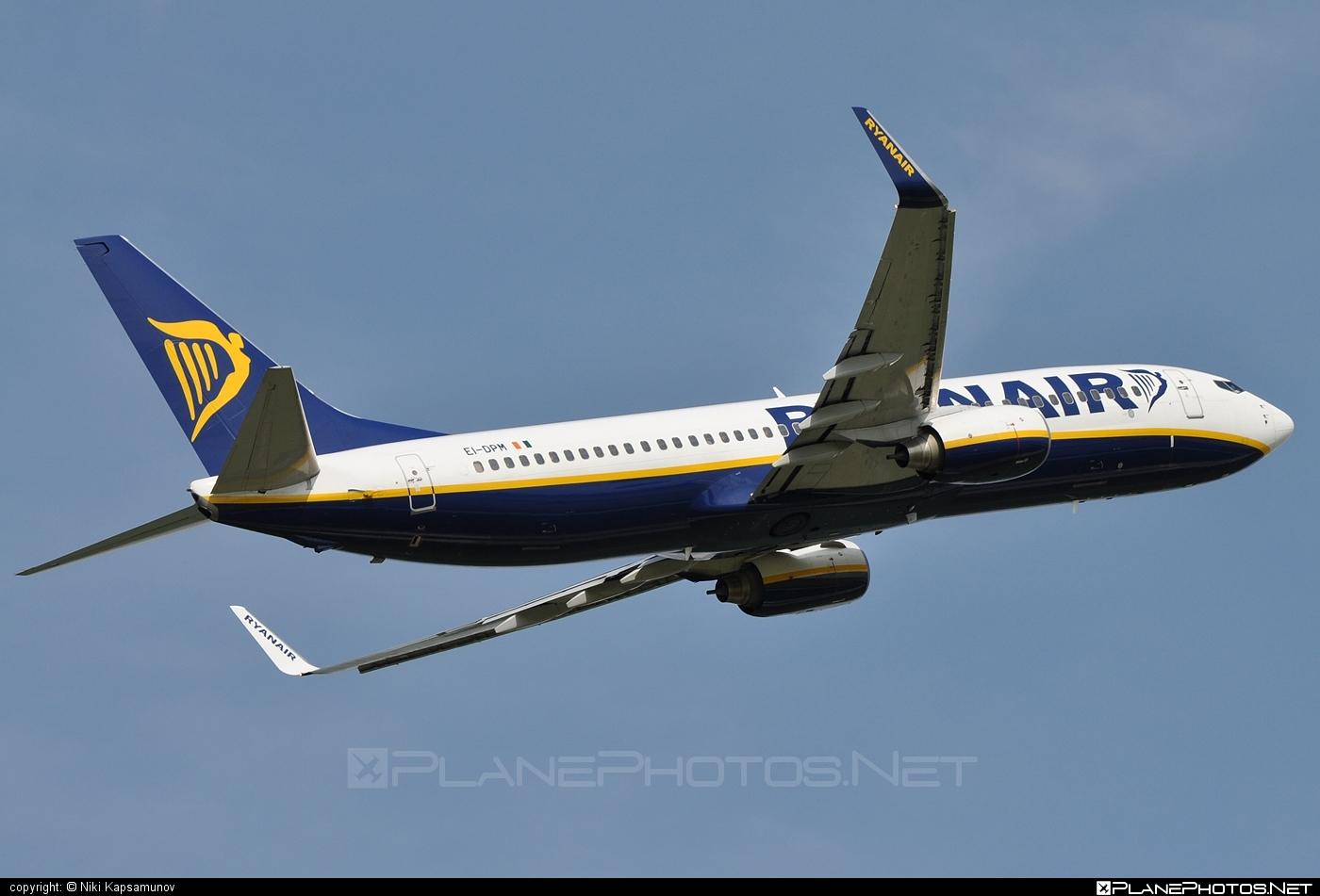 Boeing 737-800 - EI-DPM operated by Ryanair #b737 #b737nextgen #b737ng #boeing #boeing737 #ryanair