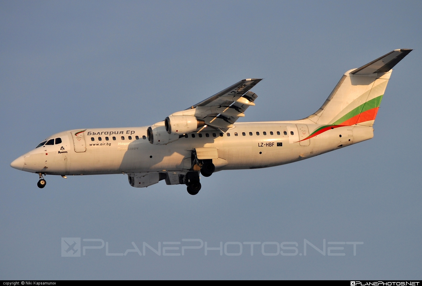British Aerospace BAe 146-300 - LZ-HBF operated by Bulgaria Air #bae146 #bae146300 #britishaerospace #bulgariaair #jumbolino