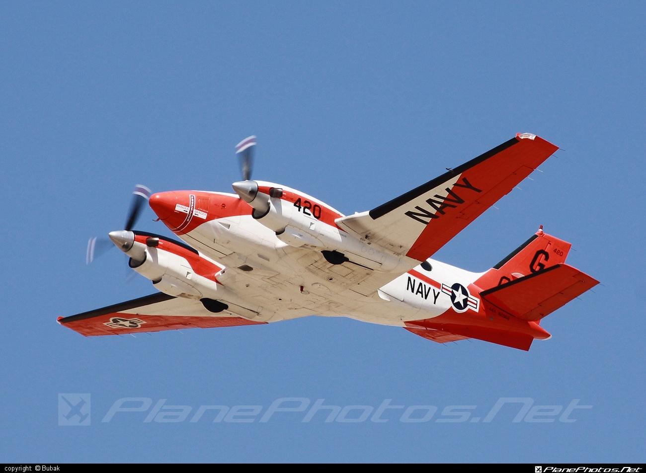 Beechcraft T-44A Pegasus - 160968 operated by US Navy (USN) #beechcraft