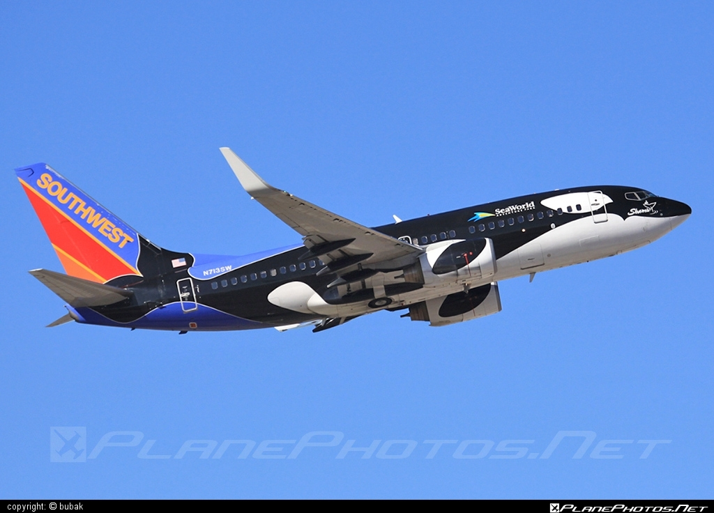 Boeing 737-700 - N713SW operated by Southwest Airlines #b737 #b737nextgen #b737ng #boeing #boeing737 #southwestairlines