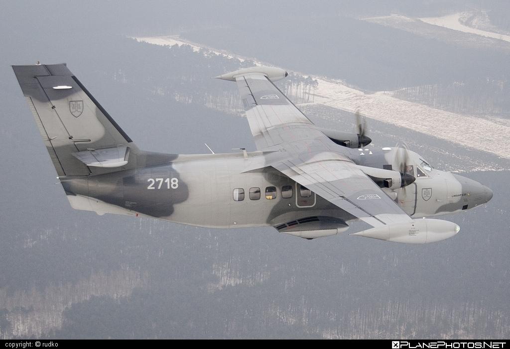 Vzdušné sily OS SR (Slovak Air Force) Let L-410UVP-E20 Turbolet - 2718 #let #slovakairforce #vzdusnesilyossr
