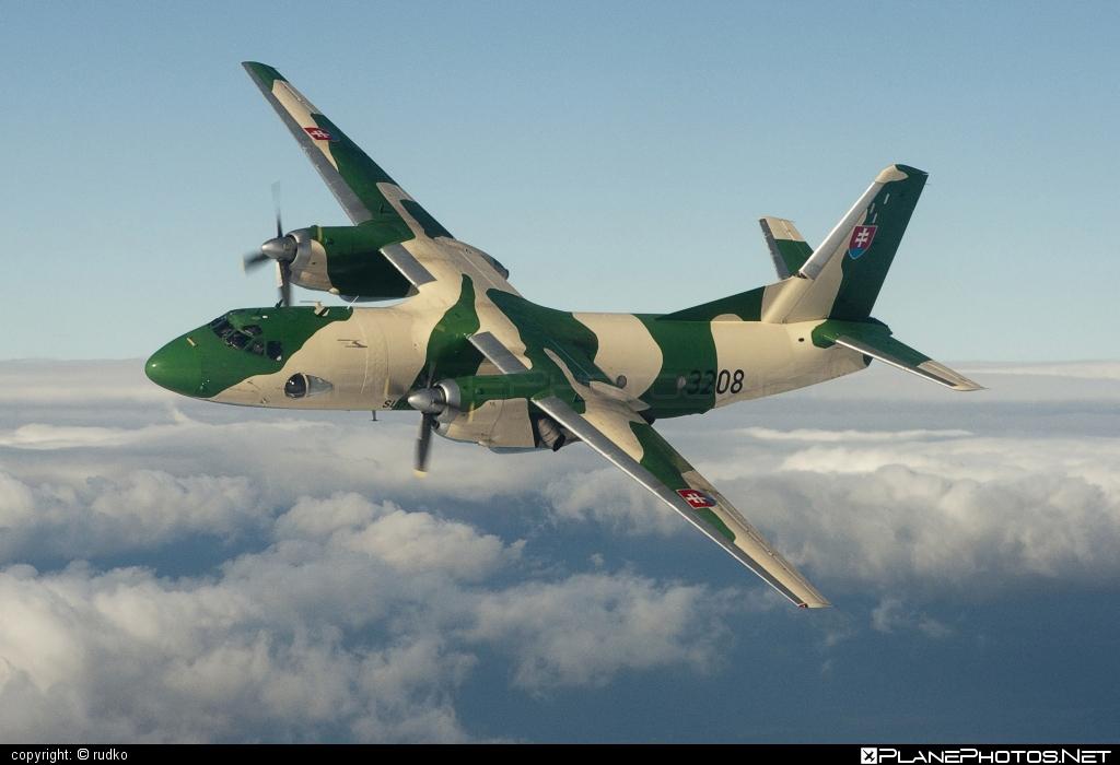 Vzdušné sily OS SR (Slovak Air Force) Antonov An-26 - 3208 #an26 #antonov #antonov26 #slovakairforce #vzdusnesilyossr
