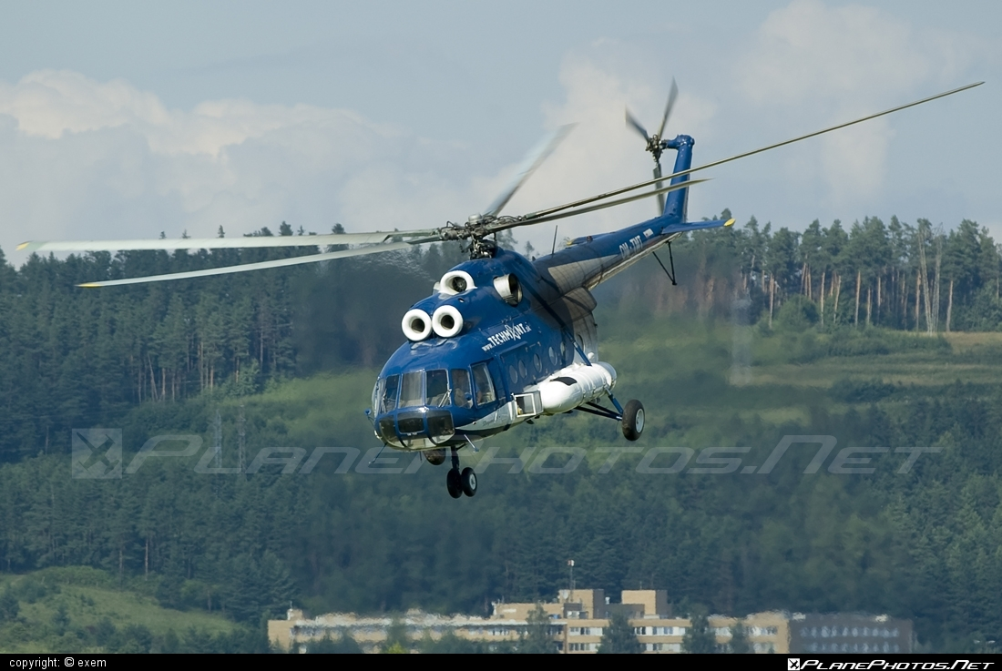 Mil Mi-8T - OM-TMT operated by TECH-MONT Helicopter company #mil #milhelicopters