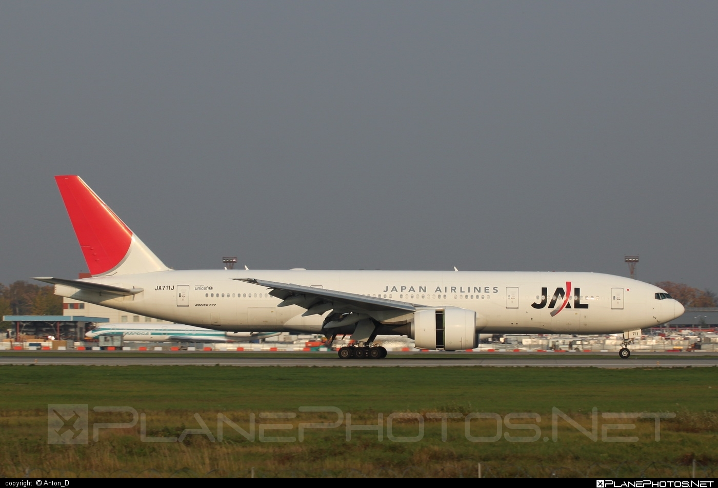 Boeing 777-200ER - JA711J operated by Japan Airlines (JAL) #b777 #b777er #boeing #boeing777 #tripleseven