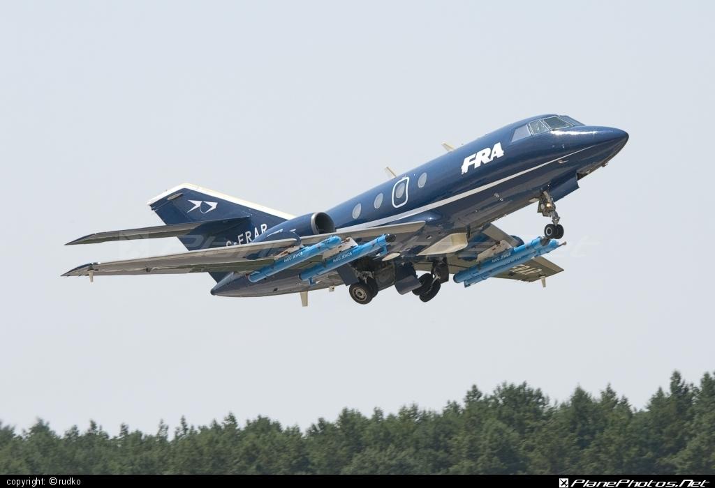 Dassault Falcon 20D - G-FRAR operated by FR Aviation #dassault