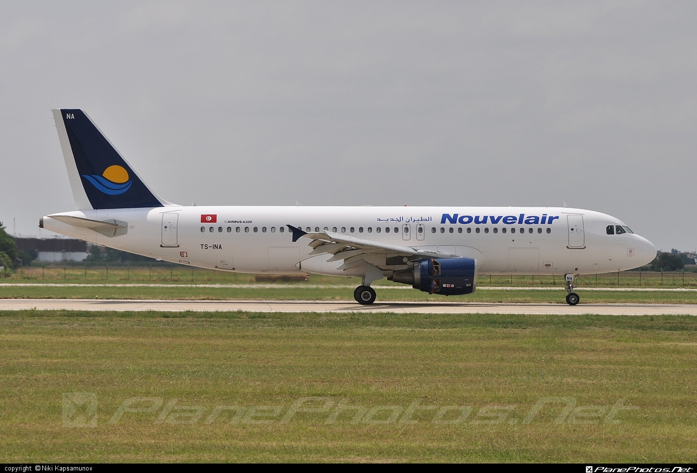 Airbus A320-214 - TS-INA operated by Nouvelair #a320 #a320family #airbus #airbus320