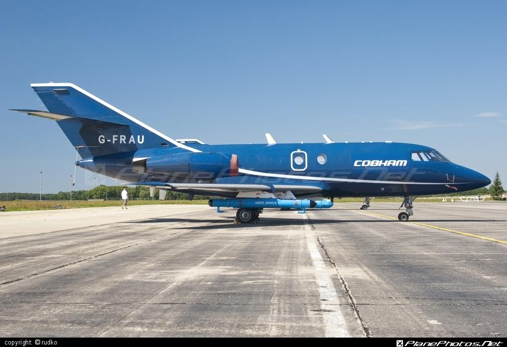Dassault Falcon 20D - G-FRAU operated by FR Aviation #dassault