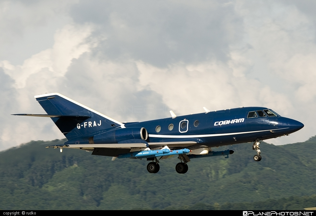 Dassault Falcon 20DC - G-FRAJ operated by FR Aviation #dassault