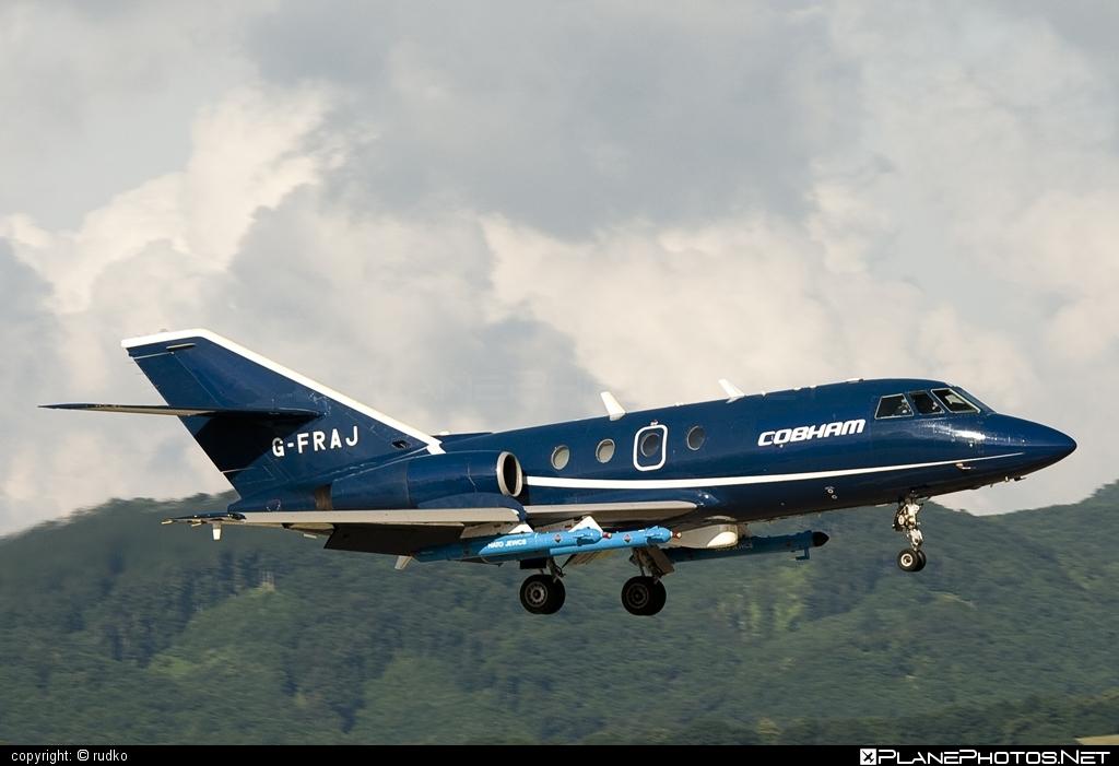 Dassault Falcon 20DC - G-FRAJ operated by FR Aviation #dassault