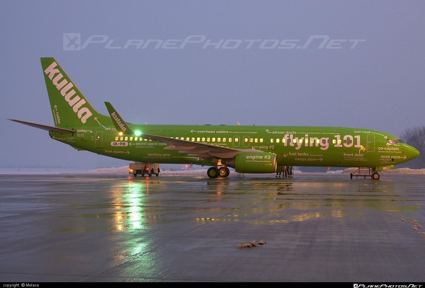 Boeing 737-800 - OK-PIK operated by Kulula.com #b737 #b737nextgen #b737ng #boeing #boeing737