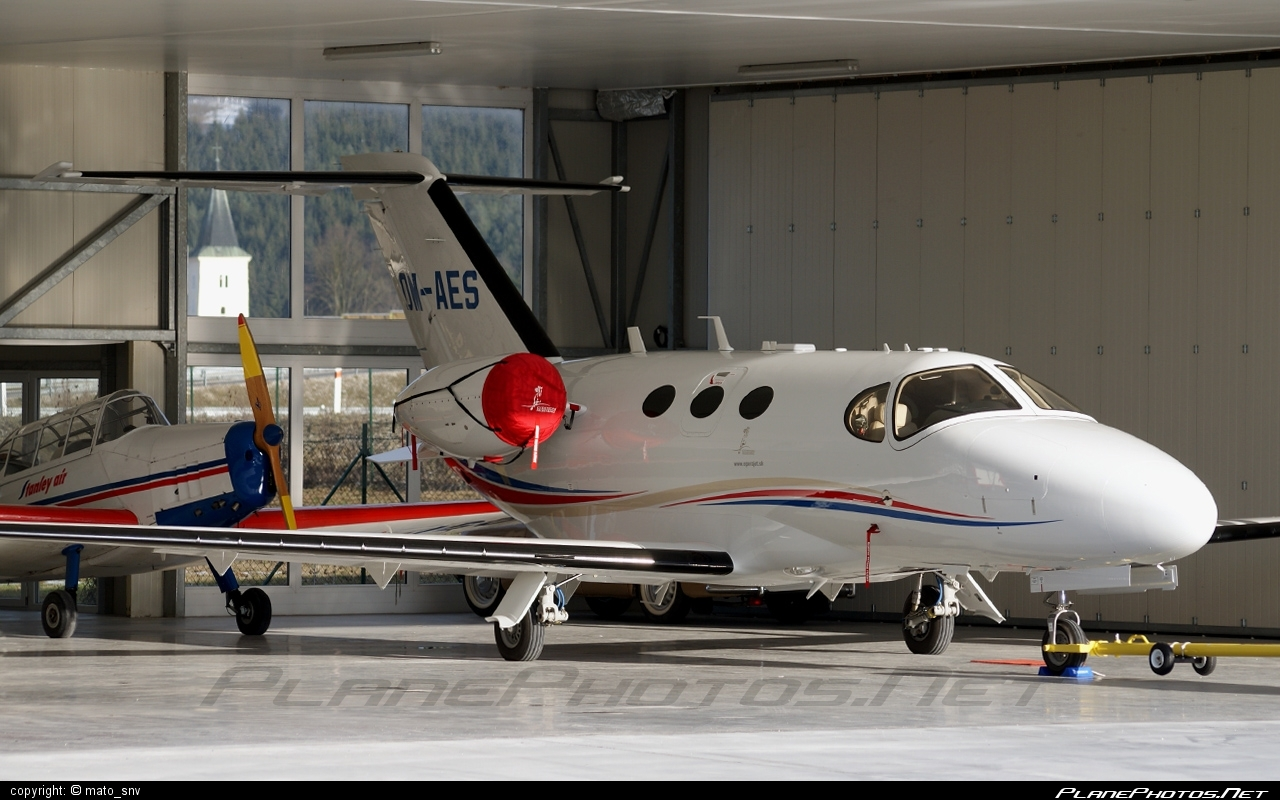 Cessna 510 Citation Mustang - OM-AES operated by Private operator #cessna
