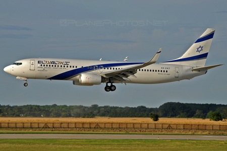 Boeing 737-800 - 4X-EKT operated by El Al Israel Airlines