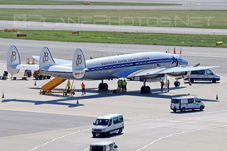 Lockheed L-1049F Super Constellation - HB-RSC operated by Super Constellation Flyers Association
