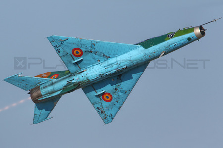 Mikoyan-Gurevich MiG-21UM - 9516 operated by Forţele Aeriene Române (Romanian Air Force)