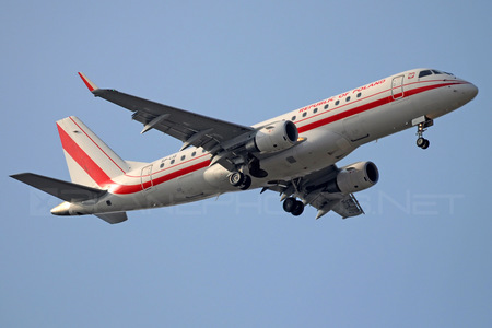 Embraer E175LR (ERJ-170-200LR) - SP-LIG operated by Poland - Government