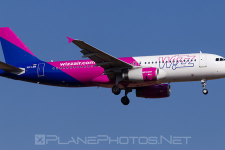 Airbus A320-232 - HA-LWB operated by Wizz Air