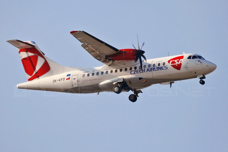 ATR 42-500 - OK-KFO operated by CSA Czech Airlines