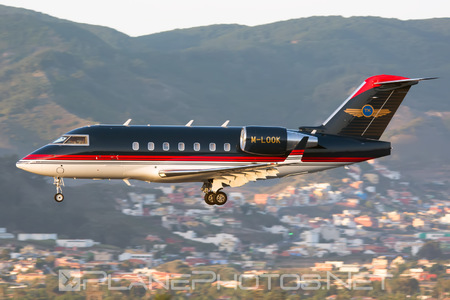Bombardier Challenger 604 (CL-600-2B16) - M-LOOK operated by Private operator