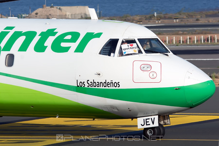 ATR 72-212A - EC-JEV operated by Binter Canarias