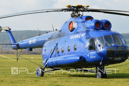 Mil Mi-8T - OM-XYC operated by TECH-MONT Helicopter company