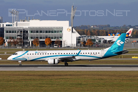 Embraer E195LR (ERJ-190-200LR) - I-ADJK operated by Air Dolomiti