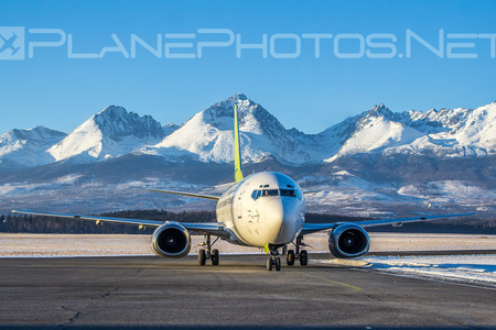 Boeing 737-500 - YL-BBD operated by Air Baltic