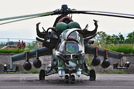 Mil Mi-24D - 0100 operated by Vzdušné sily OS SR (Slovak Air Force)