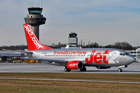 Boeing 737-300QC - G-CELR operated by Jet2