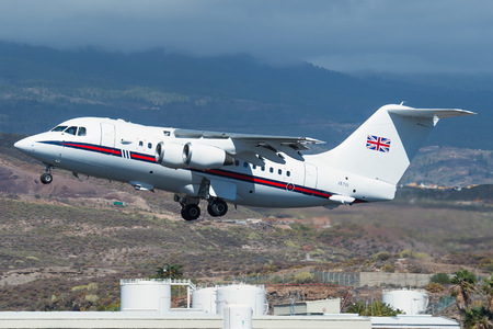 British Aerospace BAe 146 CC.2 - ZE701 operated by Royal Air Force (RAF)