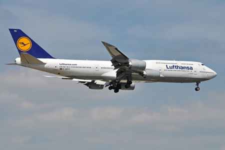 Boeing 747-8 - D-ABYG operated by Lufthansa