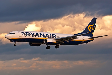 Boeing 737-800 - EI-ESS operated by Ryanair
