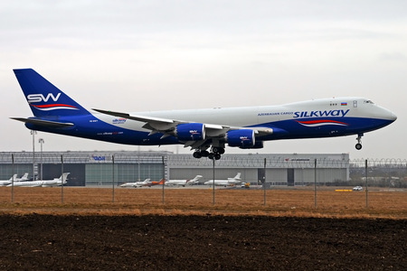 Boeing 747-8F - VQ-BWY operated by Silk Way West Airlines