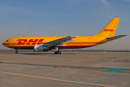 Airbus A300B4-622RF - D-AEAT operated by DHL (European Air Transport)