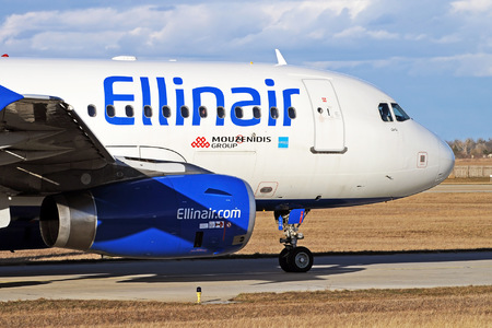 Airbus A319-132 - SX-EMM operated by Ellinair