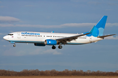 Boeing 737-800 - VQ-BAW operated by Pobeda