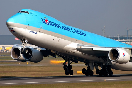 Boeing 747-8F - HL7624 operated by Korean Air Cargo