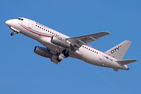 Sukhoi SSJ 100-95B Superjet - EI-FWB operated by CityJet