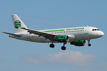 Airbus A319-112 - HB-JOG operated by Germania Flug