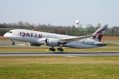 Boeing 787-8 Dreamliner - A7-BCA operated by Qatar Airways
