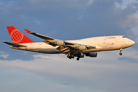 Boeing 747-400BDSF - OM-ACB operated by Air Cargo Global
