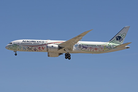 Boeing 787-9 Dreamliner - XA-ADL operated by Aeroméxico