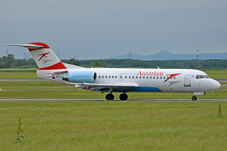 Fokker 70 - OE-LFI operated by Austrian Airlines