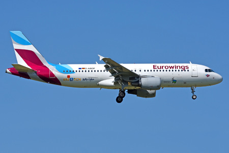 Airbus A320-214 - D-ABDP operated by Eurowings