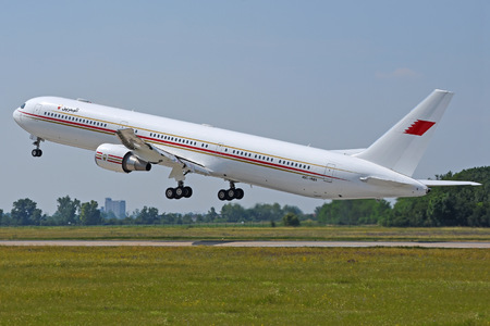 Boeing 767-400ER - A9C-HMH operated by Bahrain - Royal Flight