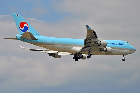 Boeing 747-400F - HL7403 operated by Korean Air Cargo