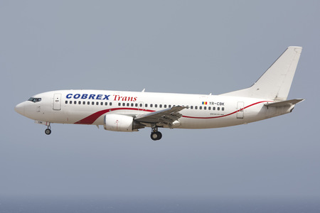 Boeing 737-300 - YR-CBK operated by Cobrex Trans