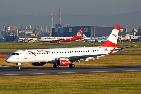Embraer E195LR (ERJ-190-200LR) - OE-LWL operated by Austrian Airlines
